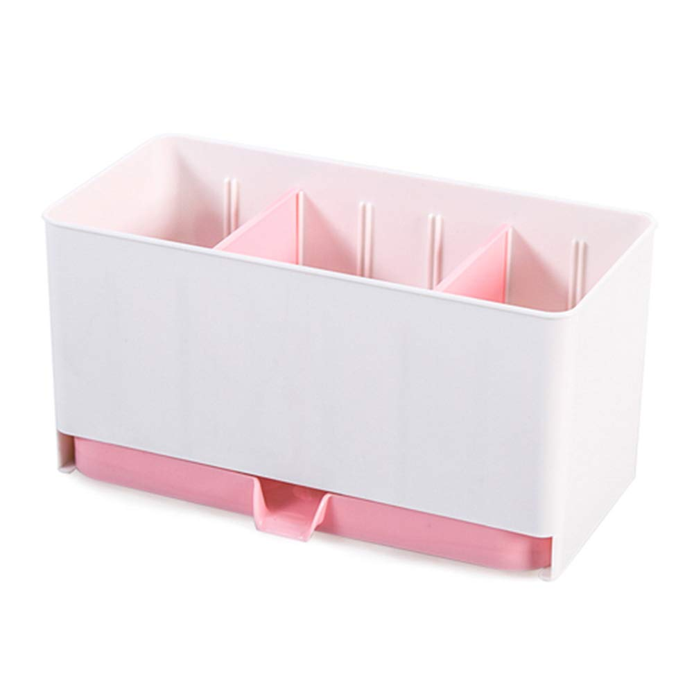 Plastic Racks Organizer Caddy Storage Kitchen Sink Utensils Holders Drainer Tool(Blue) osierr6