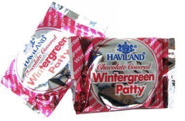 Haviland Patty - Wintergreen, 1.24 oz, 24 count by Necco