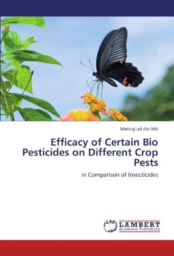 Efficacy of Certain Bio Pesticides on Different Crop Pests: in Comparison of Insecticides