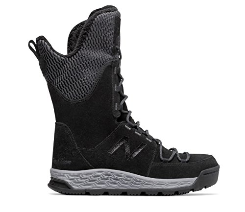 (ニューバランス) New Balance 靴?シューズ レディースウォーキング Fresh Foam 1100 Boot Black with Light Grey ブラック ライト グレー US 10.5 (27.5cm)