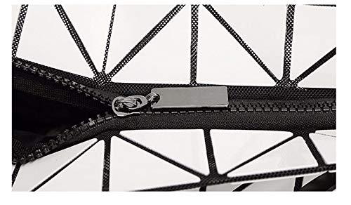 Sac noir max à Argent la longueur 30cm bandoulière main géométrique à 50cm rcqzYw1r