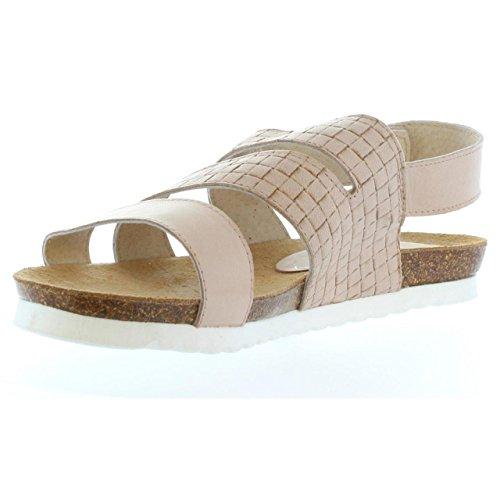 Sandalias de Mujer VAQUETILLAS 20161 CUADROS ARENA