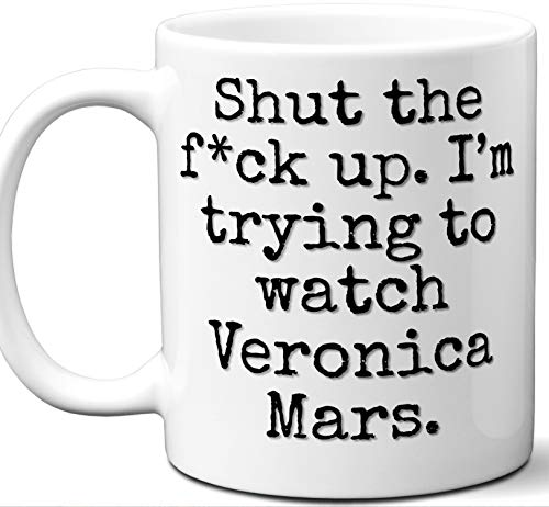 Veronica Mars Gift Mug. Funny Parody TV Show Lover Fan
