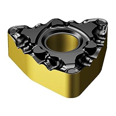 Sandvik Coromant WNMG 332-PF 4325 Indexable Carbide Turning Inserts, Trigon, Neutral, Steel (Pack of 10)