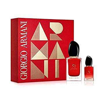 32d531130 Giorgio Armani Si Passione Gift Set 30ml Eau De Parfum & 7ml EDP:  Amazon.co.uk: Beauty