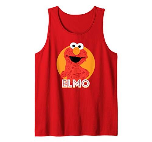 Sesame Street Elmo Scribble Tank Top (Playskool Sesame Street Elmo Junction Train Set)