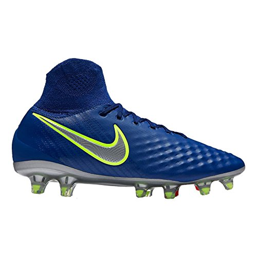 Nike Kids' Magista Obra II FG Soccer Cleat (Sz. 5Y) Deep Royal Blue by NIKE
