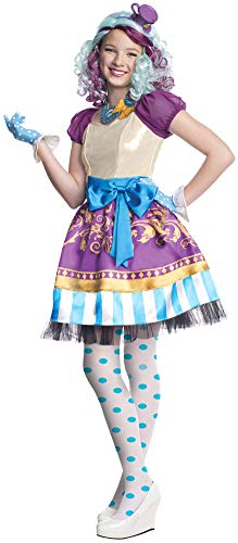 Girls Ever After High Madeline Hatter Kids Costume XLarge Girls Costume