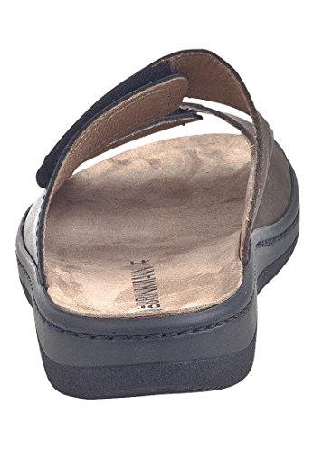 Sandalia Para Mujer Dr. Brinkmann Con Suela Negra / Marrón Braun