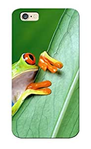 Case For Iphone 6 Tpu Phone Case Cover(redeyed Tree Frog) For Thanksgiving Day's Gift by lolosakes