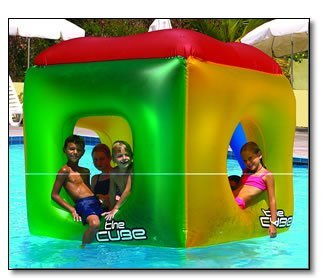 The Cube Floating Habitat Water Float Toy for Swimming Pool & Beach by -