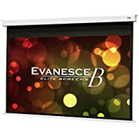 Elite Screens Evanesce B Series, 120-inch Diagonal 16:9, Recessed In-Ceiling Electric Projector Screen with Installation Kit, 8k/4K Ultra HD Ready MaxWhite FG a Matte White with Fiberglass Reinforcement Projection Screen Surface, EB120HW2-E8