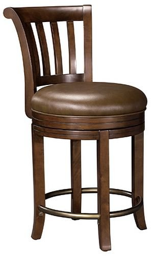 Howard Miller 697-010 Ithaca Pub Stool by (Miller Light Bar Stool)