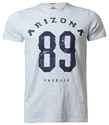 Threadbare Herren T-shirt Grafik Foto Print Kurzarm Baumwolle Sommer 'Arizona