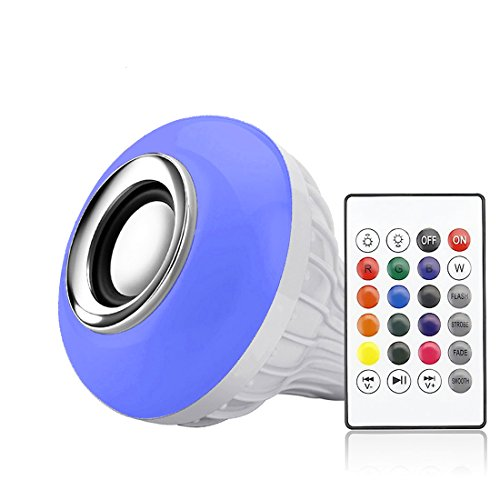 Led Light Bulb Bluetooth Speaker in US - 3
