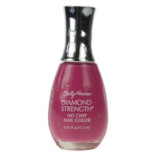(New - Sally Hansen Diamond Strength No Chip Nail Color - 330 Fuchsia Bling Bling .45 Oz)
