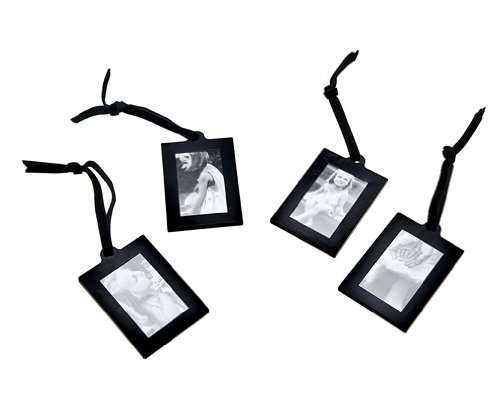 klikel extra small black hanging frames for photo picture tree display stand set of 4