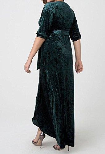 mujer Green Style7 Special Vestido Bridal para wqn0xnatX