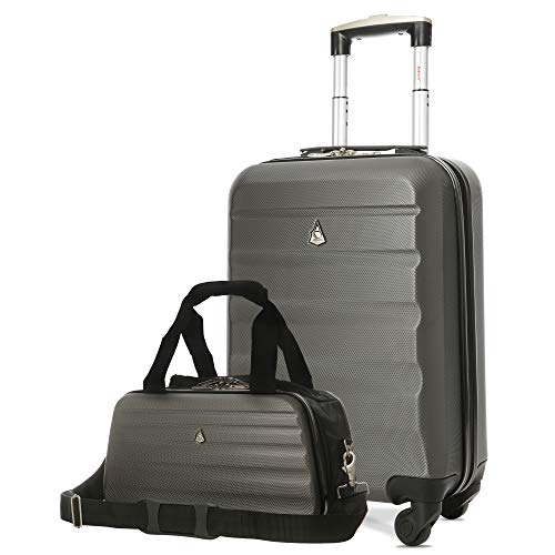 Maximum Allowance Airline Approved Delta United Southwest Carryon Suitcase and Under Seat Holdall