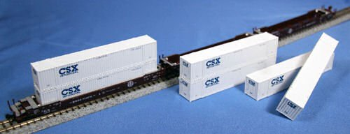■【KATO/カトー】(106-6163)MAXI-IV BNSF (BNSF コンテナ付) 253751 鉄道模型 外国車両 Nゲージ