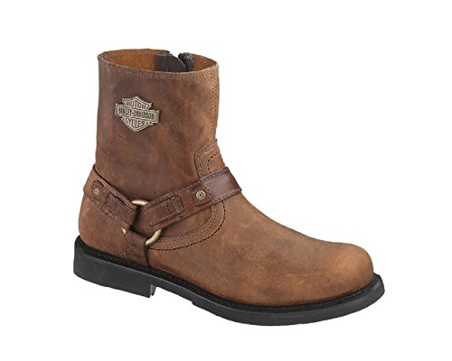 Harley-Davidson Men's Scout Harness Motorcycle Boot, Brown, 12 M -