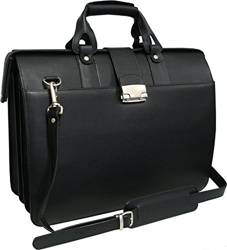 Amerileather Leather Tote (AmeriLeather Leather Doctor's Carriage Bag (Black))