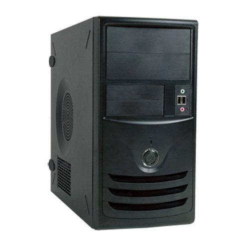 IN-WIN 350W TAC 2.0 MicroATX Mini Tower Case, Black Z589.CH350TB