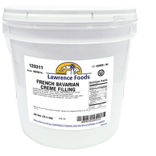 Filling French Bavarian Cream 2 Gallon by Lawrence Foods