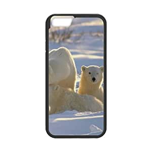 "ALICASE Diy Hard Cover Case Of Polar Bear for iPhone 6 (4.7"") [Pattern-1]"
