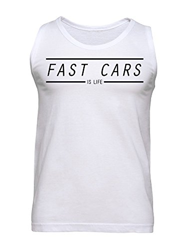 Fast Cars Is Life Men's Tank Top