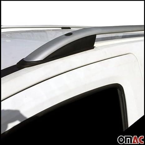 Dachträger Grau Alu mit TÜV ABE Für Opel Combo D Doblo 2 LANGER Dachreling