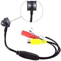 Mini Câmera Pinhole Com Áudio 3.7mm 90 Graus Ahd 2mp