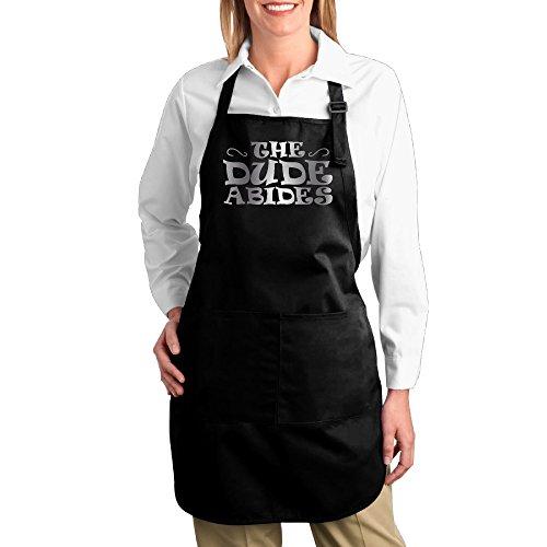 Lebowski Costumes Female (The Dude Abides Platinum Style Kitchen Baking Apron)