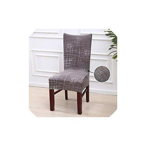 - Pattern Printing Chair Cover Dining Room Seat Protector Slipcover Stretch Dining Chair Cover Home Decor 1 PC,Color 5,Universal Sizes