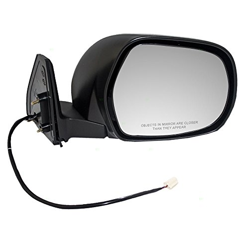 Passengers Power Side View Mirror Textured Replacement for Toyota SUV 87910-35600 AutoAndArt