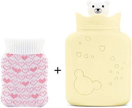 HBBSD Bolsa Agua Caliente Microondas Botellas con Material ...