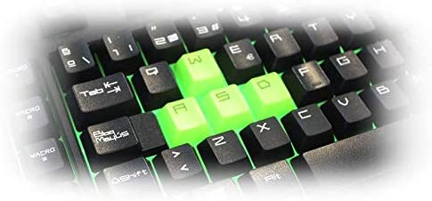 Keep Out Gaming F89CH - Teclado Gaming, Color Negro