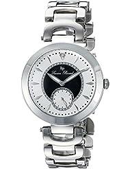Lucien Piccard Womens LP-10268-22-BKA Casablanca Analog Display Quartz Silver Watch