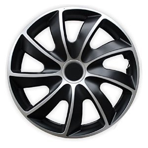 Image Unavailable. Image not available for. Colour: 15 Inch Quad Hubcaps/ Wheel ...
