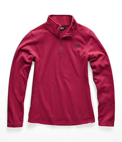 The North Face Women Glacier 1 & 4 Zip - Rumba Red - M by The North Face