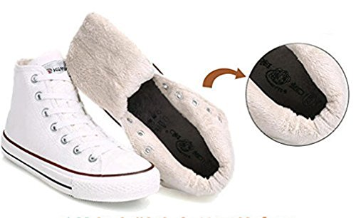 Bromeo Tokyo Ghoul Unisex Segeltuch Hallo-Spitze Sneaker Trainer Plus-Samt Schuhe