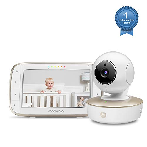 Best Price! Motorola Video Baby Monitor - Wide Angle HD Camera with Infrared Night Vision and Remote...