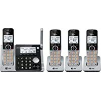 At&t Dect 6.0 Digital Four Handset Answering System with Dual Caller Id, Call Waiting (Cl83464)