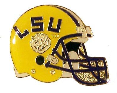 Louisiana State Tigers Lsu Helmet - aminco NCAA LSU Tigers Helmet Pin