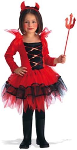 Carnaval - Disfraz de diablesa para niña: Amazon.es: Juguetes y juegos