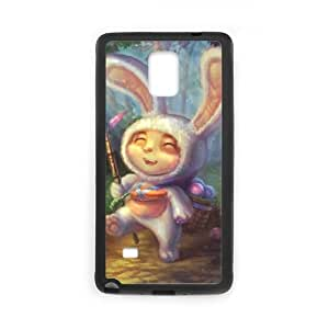 League of Legends Cottontail Teemo Samsung Galaxy Note 4 Cell Phone Case Black DIY Gift pxf005_0239258