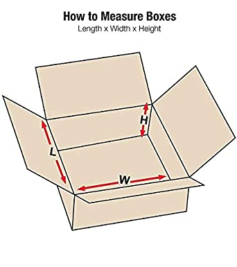 200 New Corrugated Boxes LxWxH 8x5x5-32 ECT