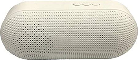 Bossin Music Capsule Compact Portable EZ330 Bluetooth Speaker  White  MP3 Player Mobile Speakers