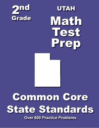 Utah 2nd Grade Math Test Prep: Common Core State Standards