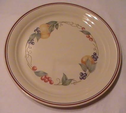 096b5014751fb Corning Corelle Abundance Dinner Plates - Four (4) Plates